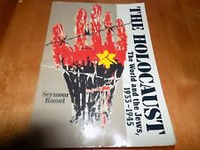 THE HOLOCAUST THE WORLD AND THE JEWS 1933-1945 Nazi Concentration Camps WW2 Book
