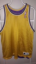 Vintage Champion SZ 48 Lakers Reversible Practice Jersey