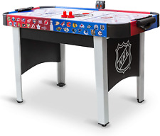 """48"""" Mid-Size NHL Rush Indoor Hover Hockey Game Table; Easy Setup, Air-Powered"""