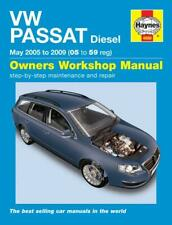 Haynes Workshop Manual VW Passat Diesel 2005-2010 Service & Repair