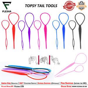 Topsy Tail Hair Braid Ponytail Braid Maker Hair Styling Accessories EasyUse Tool