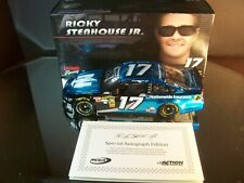 Ricky Stenhouse Jr #17 Nationwide Insurance Autographed 2014 Ford Fusion Liquid