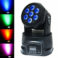 105W 7-LED LED RGBW Stage Head Moving Lighting DMX-512 DJ/Disco Party Light US