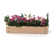 Dolls House 4266 Blumenkasten pink 1:12 für Puppenhaus NEU!   #
