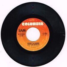 "Columbia 3-10884 Gary's Gang Keep On Dancin/Do It At The Disco 7"" 45 VG/VG+"