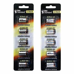 10 Pack 4LR44 / 476A / PX28A / A544 / L1325 Dog Collar 6V PetStandard Brand