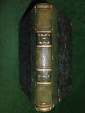 Édouard LAPÈNE, Campagnes de 1813 et 1814 ÈBRE, PYRÉNÉES, GARONNE - Napoléon