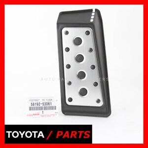 FACTORY LEXUS IS F IS250 IS350 09 -15 FOOT REST PEDAL FRONT LEFT 5819253061 OEM