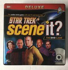 Scene It Star Trek (Deluxe Edition) (DVD / HD Video Game, 2009)