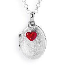 Medaillon mit Herz rot Anhänger ohne Kette LD MY Heartbreaker by Drachenfels 2 B