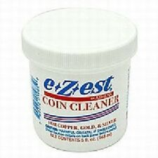 E*Z*EST Coin Cleaner 5oz One Jar Tarnish Rust Removal Liquid Coins Cleaning NEW