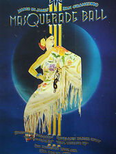 Margo St. James' San Francisco Masquerade Ball Poster Oct. 1979 Civic Auditorium