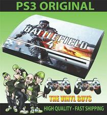 PLAYSTATION 3 PS3 ORIGINAL BATTLEFIELD 4 001 STICKER SKIN & 2 PAD SKINS