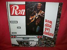 RON Una città per cantare LP 1980 Prima stampa MINT- LUCIO DALLA DE GREGORI PFM