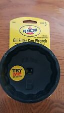 Pennzoil Oil Filter Cap Wrench -  74/76mm 15 Flutes Code B  19901 LOT OF 2