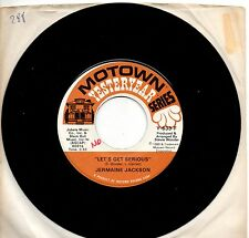 JERMAINE JACKSON disco 45 giri MADE in USA 1980 Let's get serious + You're suppo
