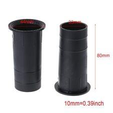"2/4PC Speaker Port Tube Bass Reflex Connector 3-5"" 35x80mm Subwoofer Woofer Box"