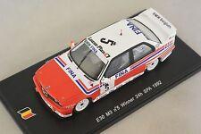Spark SB069 - BMW E30 M3 n°5 1er 24h SPA 1992 J. M. Martin - S. Soper - C. 1/43