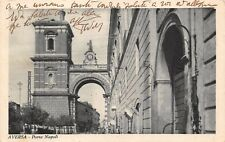 6093) AVERSA, PORTA DI NAPOLI. VIAGGIATA NEL 1938.