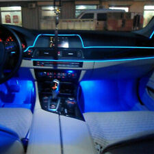 Car Interior LED Ambient Light Atmosphere lamp Optical Fiber Light Door Light