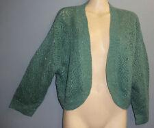 Acrylic Boleros Thin Knit Jumpers & Cardigans for Women
