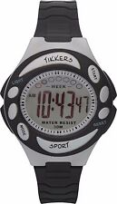 Tikkers Boys Black Digital Watch/ Argos SALE Sports, StopWatch, LCD, Alarm GIFTS