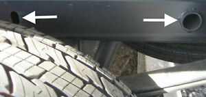 2019 2020 2021 GMC Sierra & Chevrolet Silverado 1500 Acc. Wheel Well Plug Kit