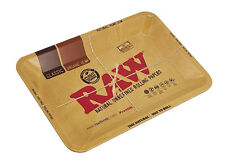 "7"" x 5"" Raw® Aluminum High Sided Rolling Tray - Mini"