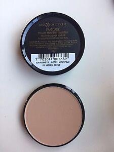 Max Factor Pancake Foundation HONEY BEIGE / CREAMY BEIGE Makeup NEW SEALED