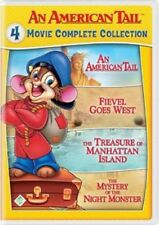 An American Tail 4 Movie Complete Collection (Dom DeLuise) New R1 DVD