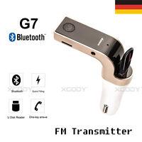 Bluetooth FM Transmitter MP3 Player USB Stick KFZ Auto SD AUX USB Ladegerät W1