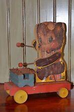 Vintage Fisher Price Teddy Zilo Pull Toy #752 vintage Nursery home decor Bear