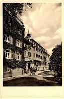 Mineralbad Ditzenbach Ansichtskarte 1962 Straßenpartie am Sanatorium Grünanlagen