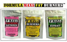 VERY STRONG WEIGHT LOSS FAT BURNERS SLIMMING DIET PILLS TRI-COMBO LOSE 20LBS