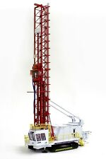 """Bucyrus 49HR  Drill Rig - """"WHITE & RED"""" - 1/50 - TWH #022-01050"""