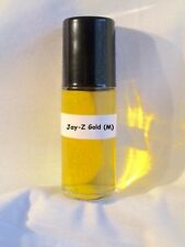 Jay Z Gold Type 1.3oz Large Roll On Pure Men Fragrance Oil