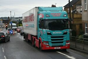 Truck Photos Staplehurst Transits Scania R450 & fridge V26 STL