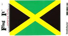 JAMAICA FLAG LAMINATED CAR SELF ADHESIVE VINYL DECAL STICKER NEW