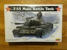 Lindberg USSR T-55 Main Battle Tank Model Kit 1/35th Israeli TI-67 Variant Parts