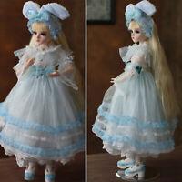 FULL SET BJD Doll 1/3 Ball Jointed Girl Dolls Lovely 60cm BJD Puppen Doll Gift