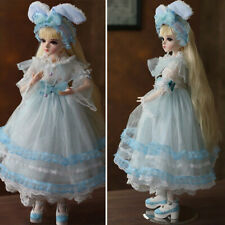 FULL SET BJD Doll 1/3 Ball Jointed Girl Dolls 60cm Princess With Dress Clothes