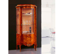 BRAND NEW Gorgeous Display Cabinet, Vitrine Rosewood, Floral, 100% Made in Italy