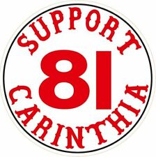 "053b HELLS ANGELS Support 81  Big Red Machine Sticker Aufkleber ""CARINTHIA 81"""