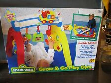 Sesame Street Grow & Go Play Gym Activity Roadway Baby Infant Fisher Price Toy