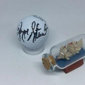 Payne Stewart signed Personal Model PS Top Flight Golf Ball JSA LOA d.1999 A1963