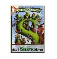SHREK Anthology Complete DVD Movie Boxset Collection 1 2 3 4 Quadrilogy  1-4 UK