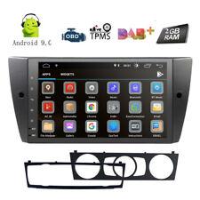"""9"""" Android 9.0 Car No DVD Player GPS Radio for BMW E90-E93 M3 330i 320i 325i 328"""
