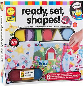Kids Arts and Crafts Fun School Alex Toys Little Hands Ready Set Shapes Craft