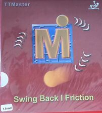 NICE PRICE -->> TTMASTER TT-Belag Swing Back I Friction; neu + ovp