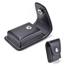 Black.Windproof Cigarette Lighter Pouch Case Box Holder With Belt Loop Waist_ Nb